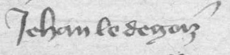 1384 Jehan le Degoiz (solvable à Fraignot