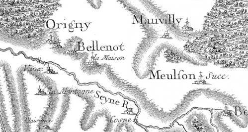 Origny, Bellenot et la Maison